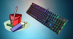 Die besten Tipps, wie ihr eure Gaming-Tastatur reinigen könnt