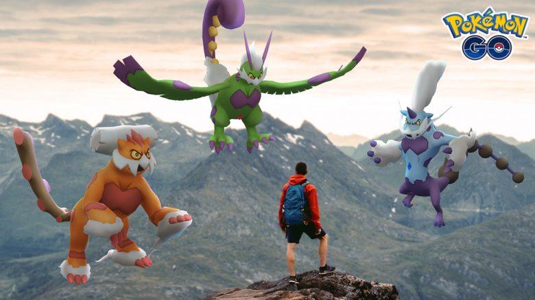 legendäre Jahreszeit Pokemon GO Boreos, Demeteros, Voltolos
