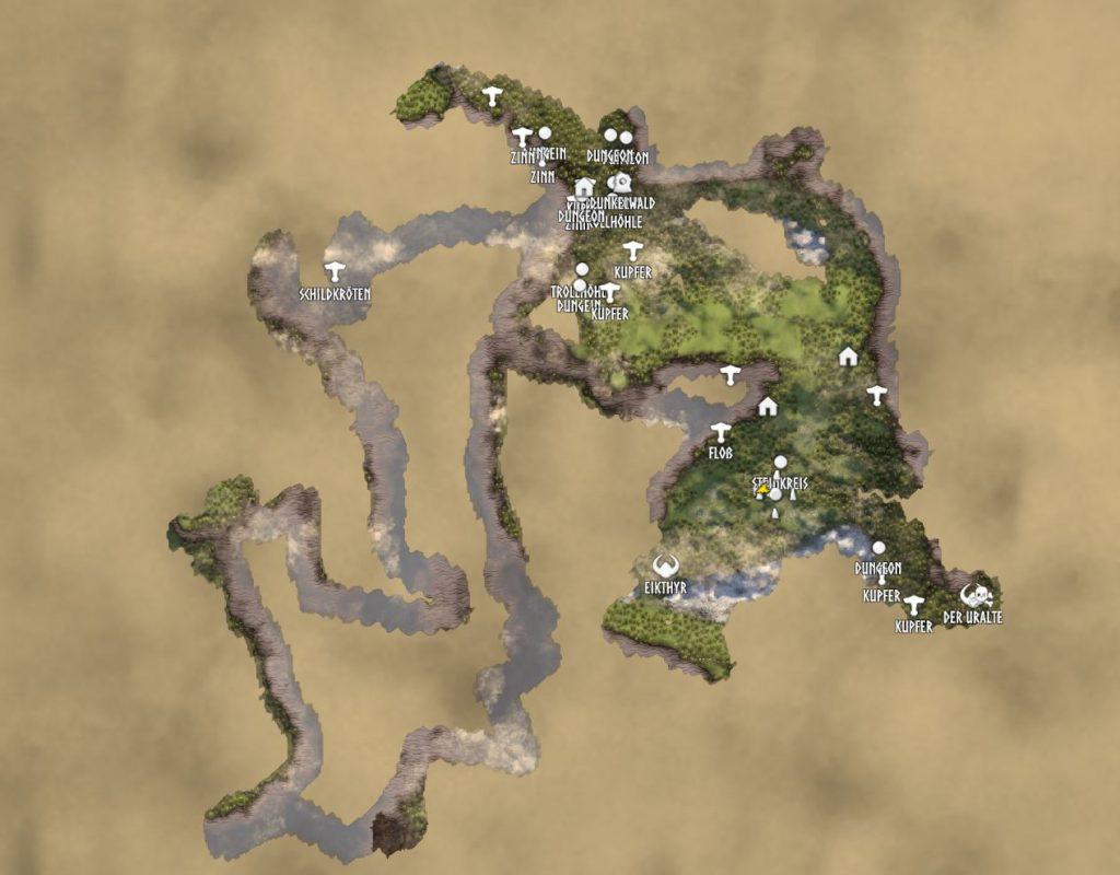 Valheim Map klein