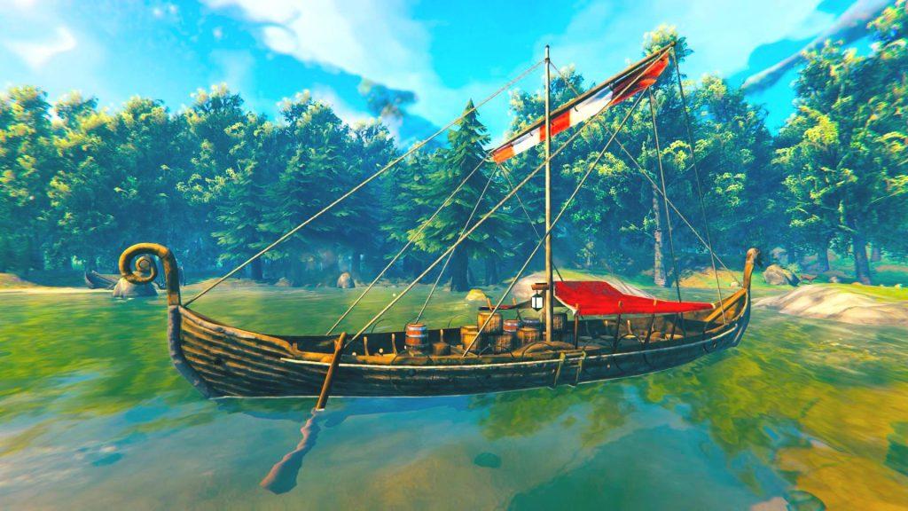 Valheim Trailer Ship Titel