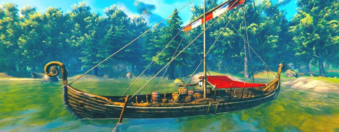 Valheim Trailer Ship Titel