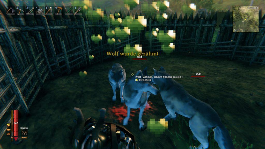 Valheim Wölfe zähmen