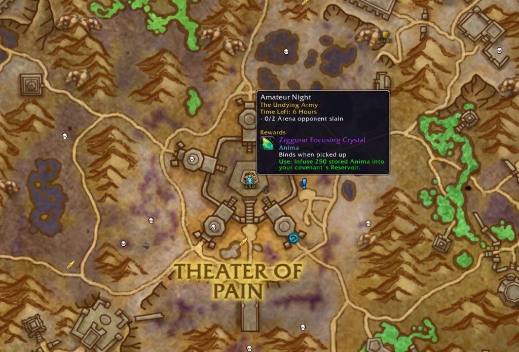 WoW Arena Quest Maldraxxus