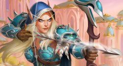 WoW Hearthstone Warcraft Sylvanas High Elf titel title 1280x720