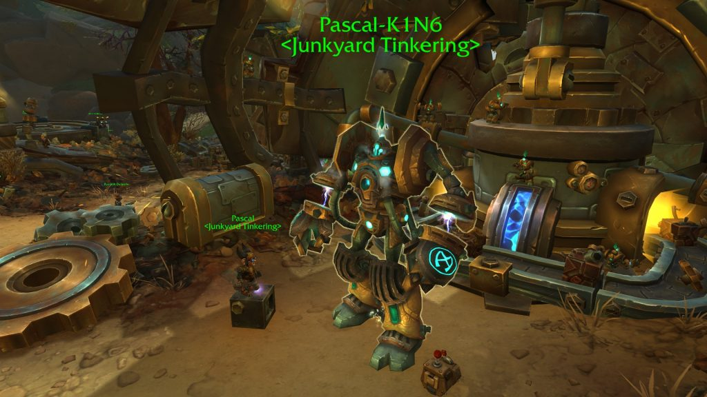 WoW Portal Guide Mechagon Pascal-K1N6