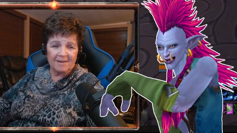WoW: Auch mit 78 Jahren geht diese Twitch-Streamerin noch heroisch raiden