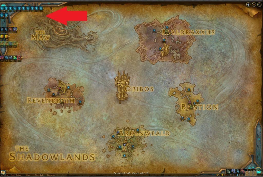 WoW World Quest Tracker
