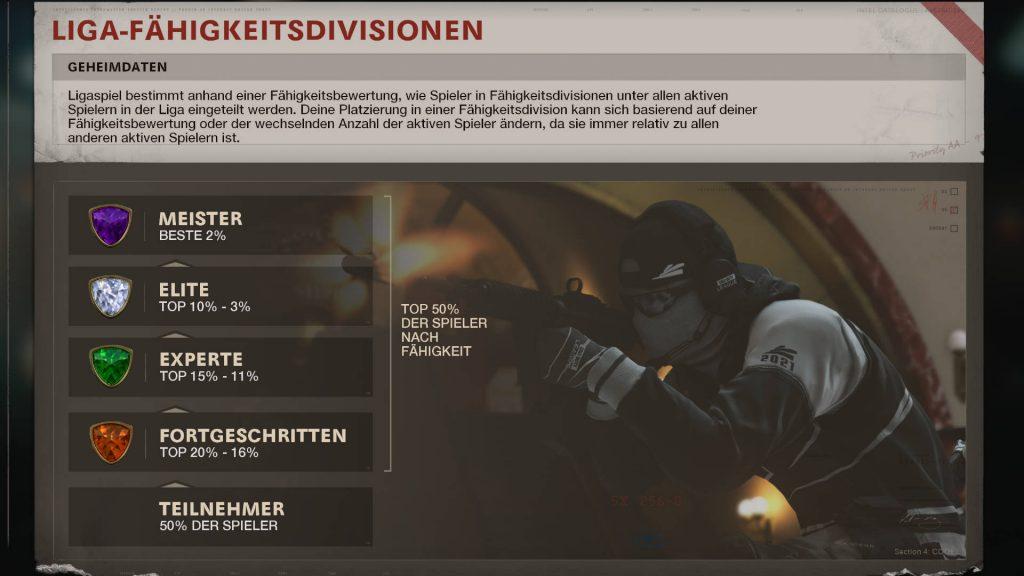 cod cold war ligaspiel modus divisionen