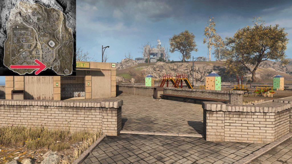 cod warzone map quiz bild 01 antwort Tavorsk Park