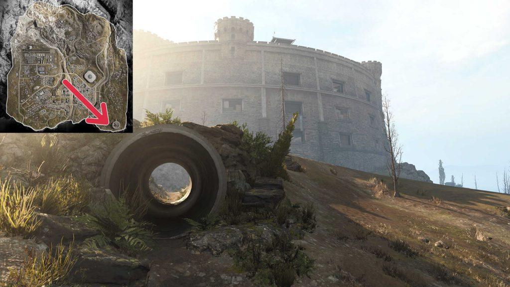 cod warzone map quiz bild 06 Gulag Tunnel