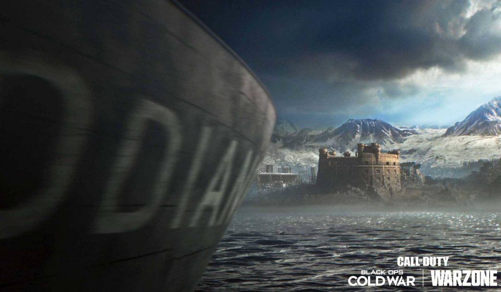 cod warzone schiff vor der küste season 2