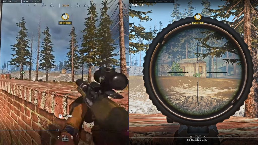 cod warzone waffen visier axial arms 3x zoom