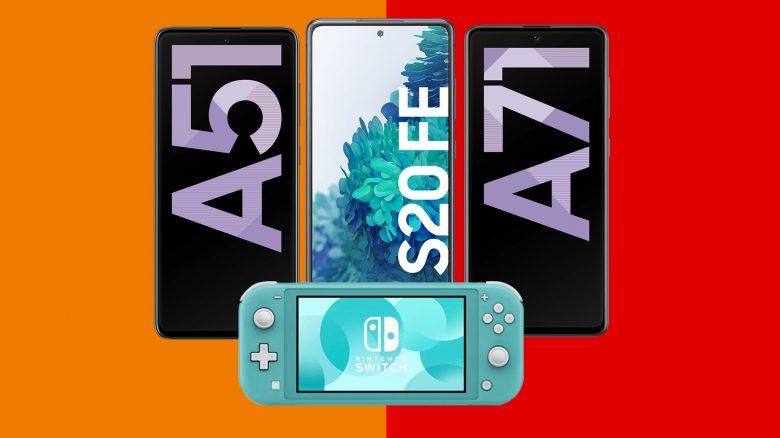 Galaxy S20 FE & Co. mit Tarif und Nintendo Switch Lite günstig bei Saturn