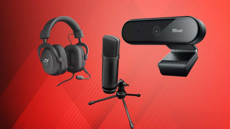 MediaMarkt Angebot: Trust Webcam & Mikrofon für Streaming & Youtube