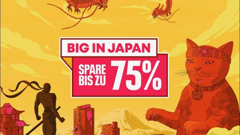 Big in Japan im PS Store: Massenweise Asia-Hits für PS4 und PS5 stark reduziert