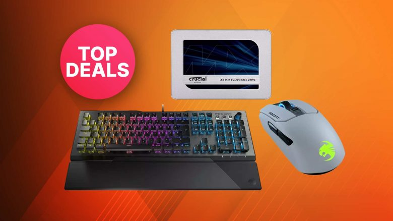 Saturn Weekend Deals: ROCCAT Gaming-Tastatur & -Maus stark reduziert