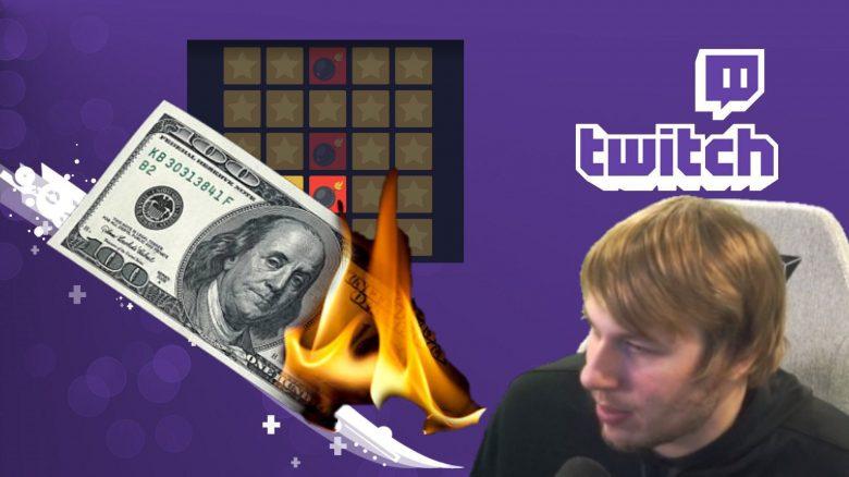 Twitch-Streamer verliert im Online-Casino über 7000 Dollar – Rastet dann komplett aus
