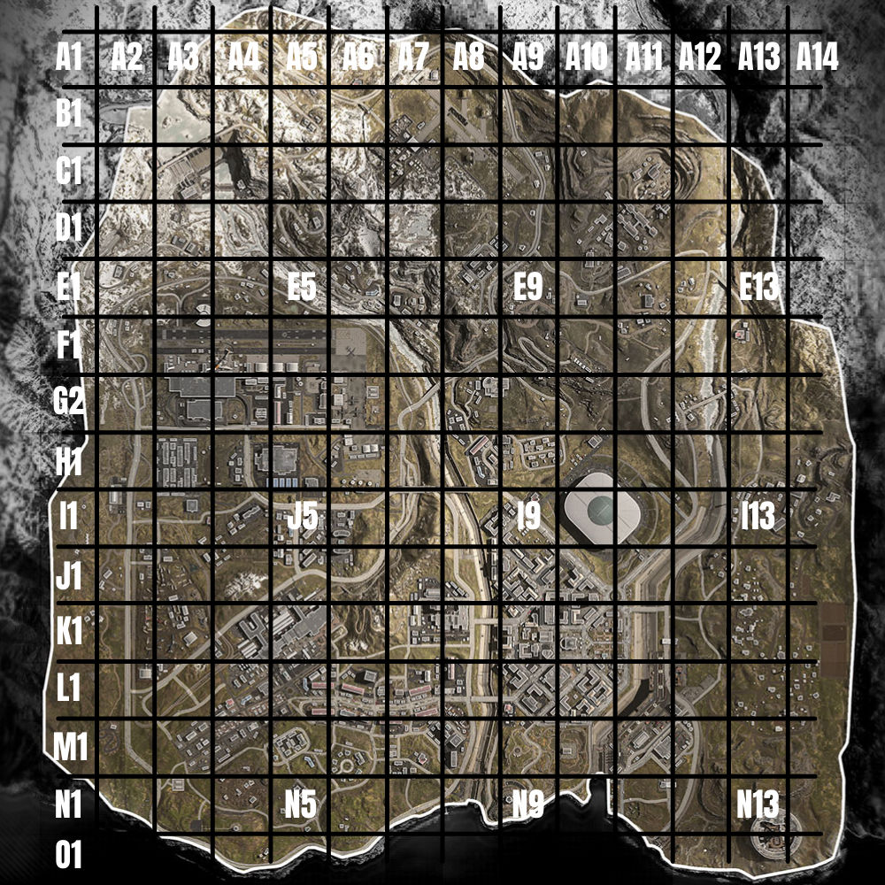warzone map map quiz