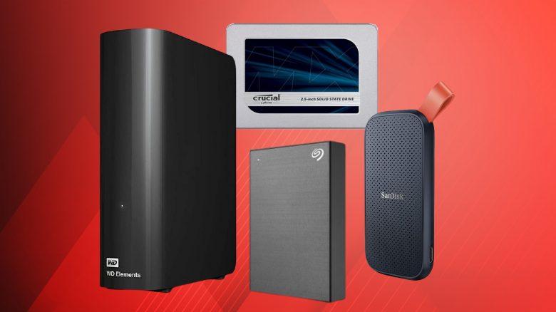 Externe Festplatten und SSDs stark reduziert im Angebot bei Amazon