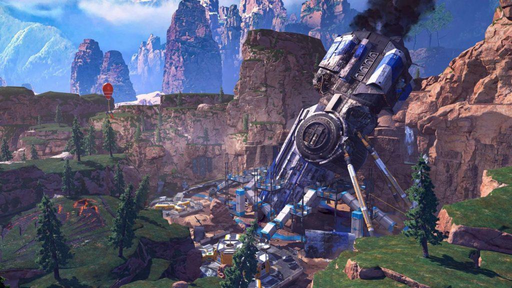 Apex Legends Kings Canyon abgestürztes Schiff