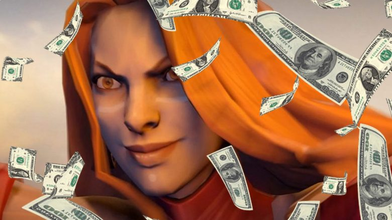 DOTA 2 Geld Titel