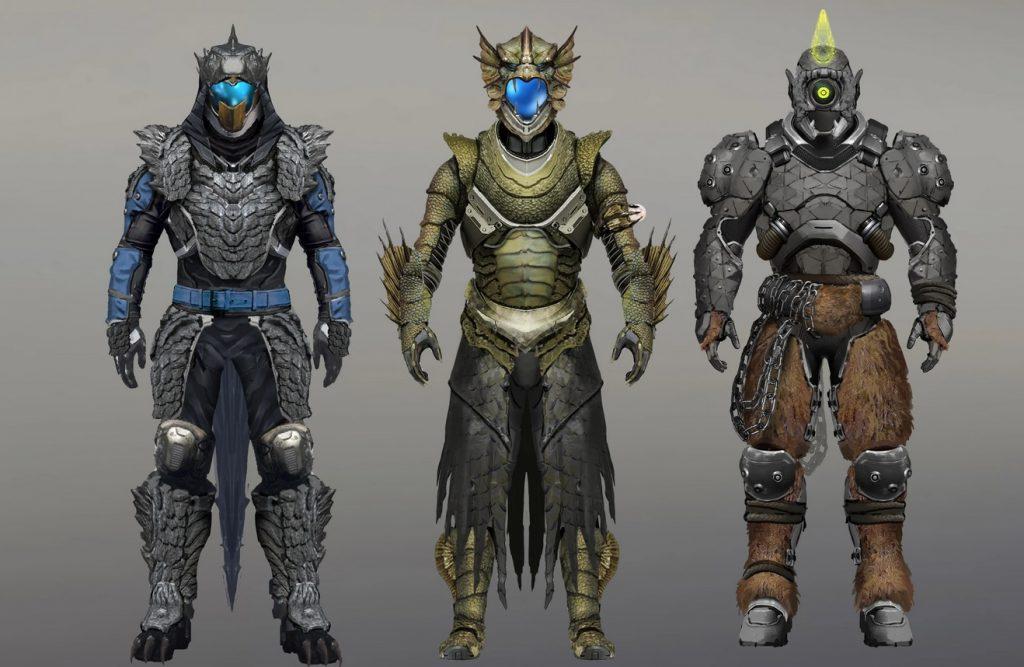 Destiny 2 Gear Monster Festival Lost Concept Art
