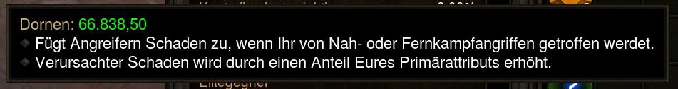 Diablo 3 Dornen