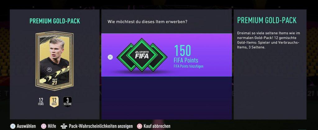 FIFA 21 Shop