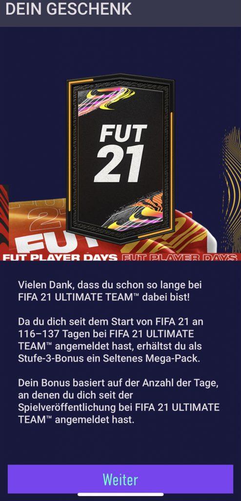 FIFA 21 Gratis Pack