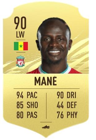 FIFA 21 Mané