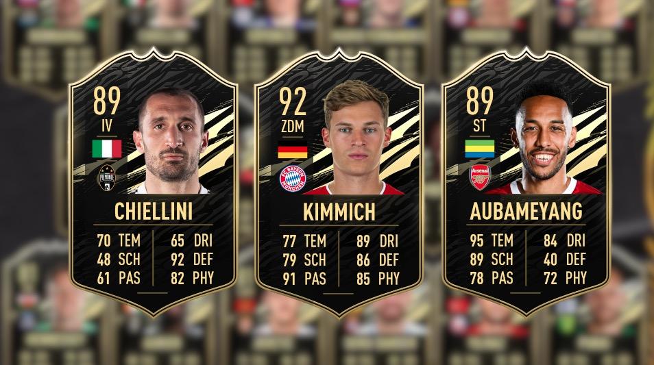 FIFA 21 TOTw 27 beste Karten
