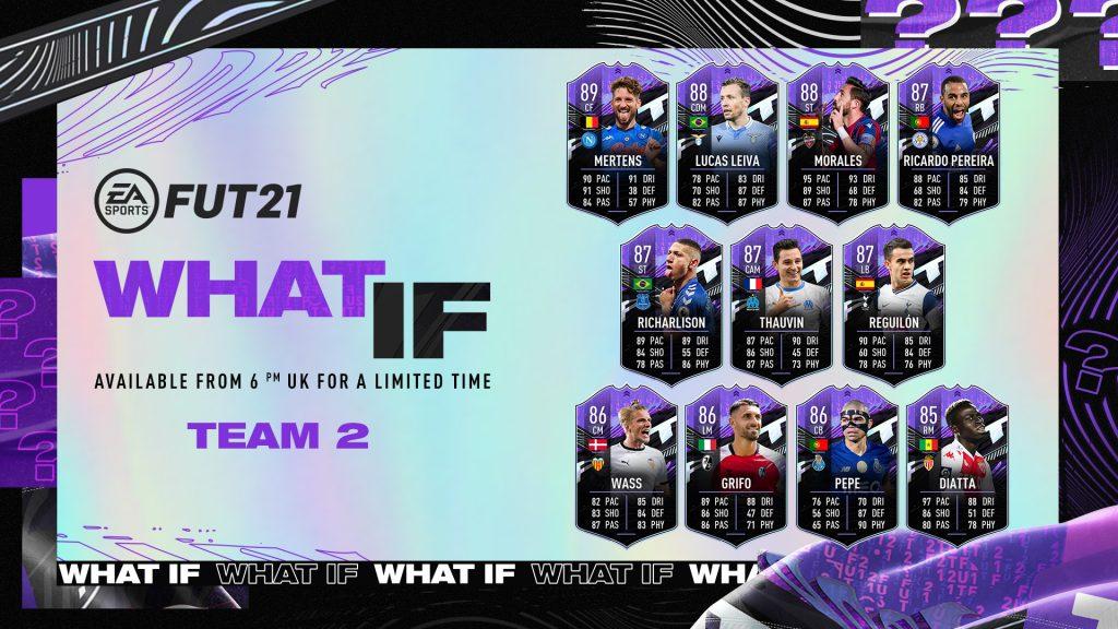 FUT 21 What If Team 2