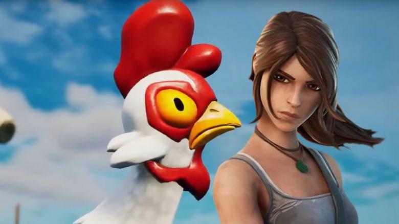 Fortnite-Spieler nutzen Hühner-Trick für irre starke Rotationen
