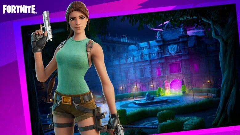 Im Lara-Croft-Modus spielt ihr Fortnite völlig anders als sonst