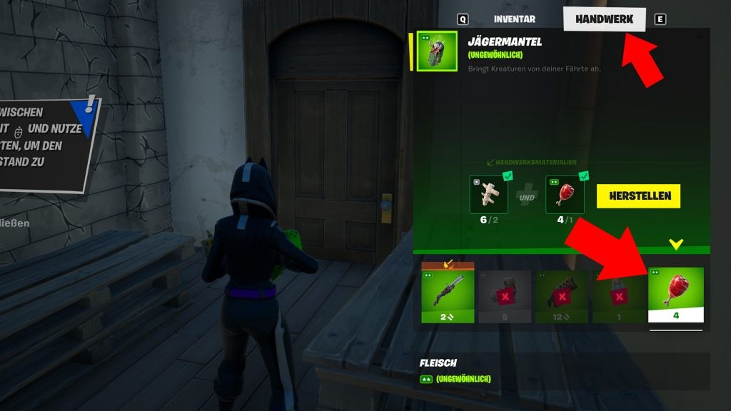 Fortnite Season 6 Jägermantel Herstellen