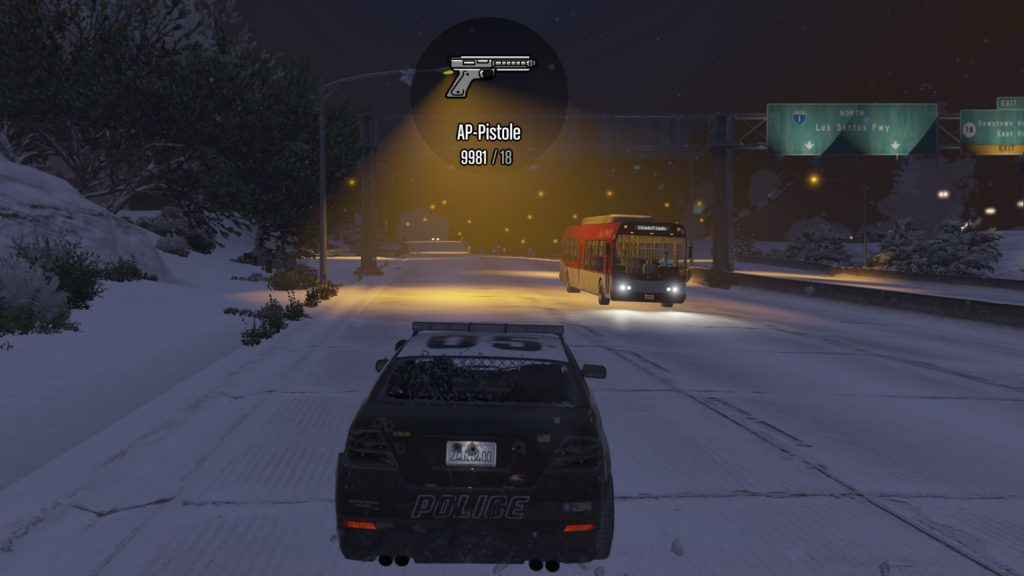 GTA Online Auto AP-Pistole