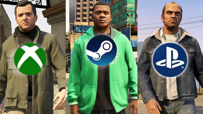 GTA Online Crossplay Titel