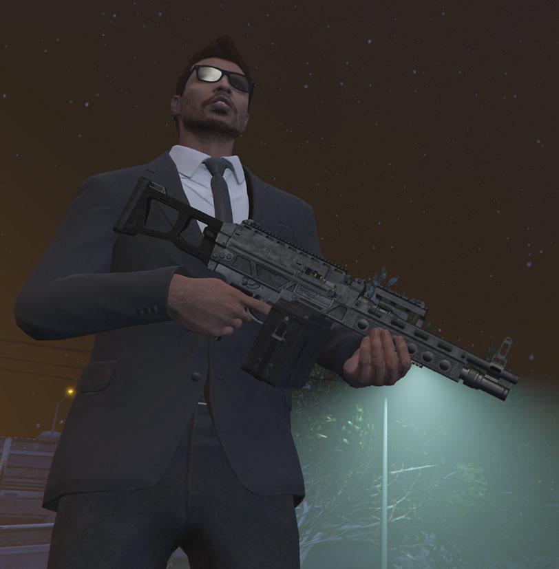 GTA Online Gefechts-MG