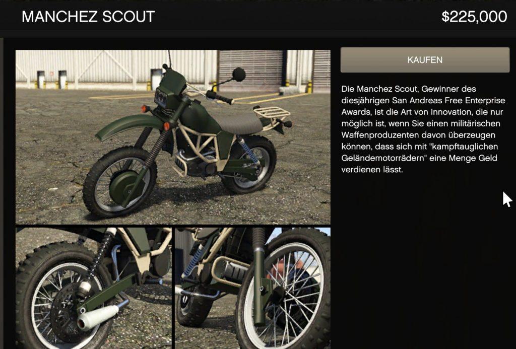 GTA Online Manchez Scout