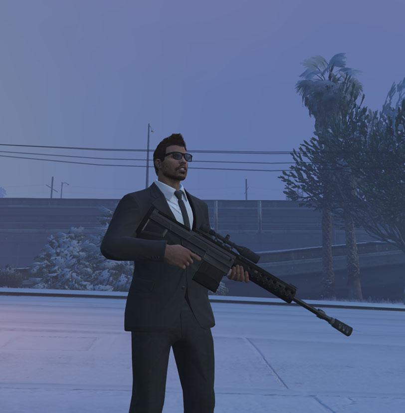 GTA Online Schweres SCharfschützengewehr MK 2