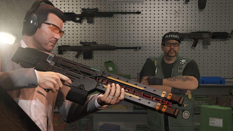 GTA Online Waffen Liste Titel