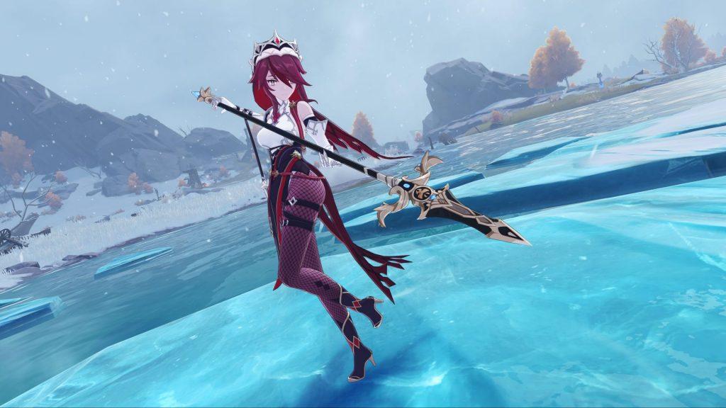 Genshin Impact Rosaria Ice Queen