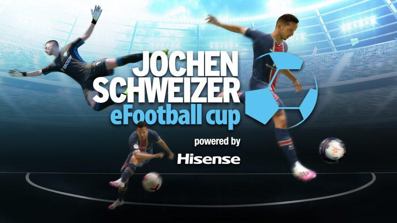 Fußball-Profis aufgepasst: Jochen Schweizer lädt zum eFootball-Cup