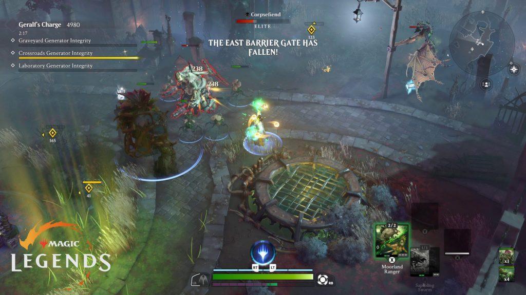 Magic Legends Geralfs Charge Test