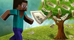 Minecraft Geld Guy Running Tree titel title 1280x720