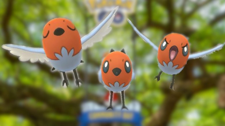 Pokemon GO Dartiri Fang Chance anpassung