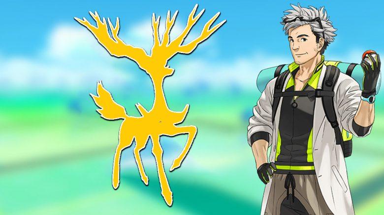 Pokémon GO Xerneas Titel