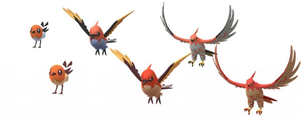 Shiny Dartiri Pokemon GO
