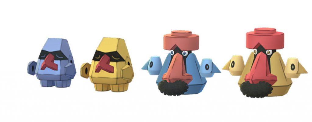 Shiny Nasgnet Pokemon GO