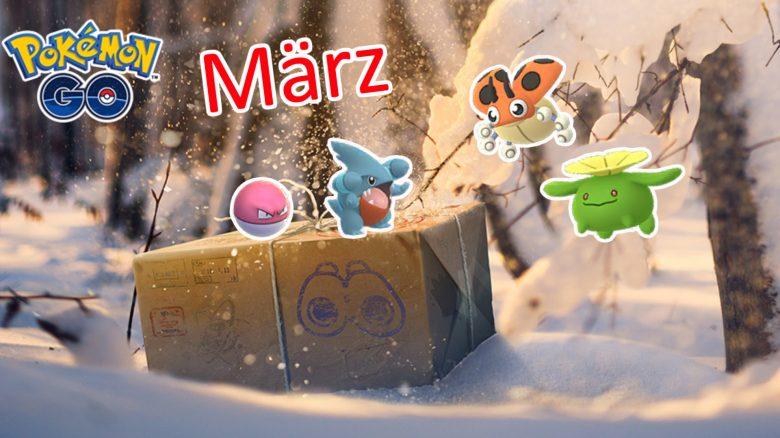 Feldforschungen März 2021 Pokemon GO